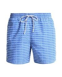 Shorts de baño Estampados Celestes de Lacoste