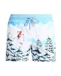 Shorts de baño Estampados Celestes de Vilebrequin