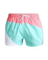 Shorts de baño estampados en multicolor de Boardies