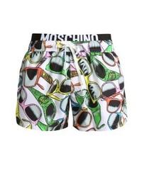 Shorts de baño estampados en multicolor de Moschino