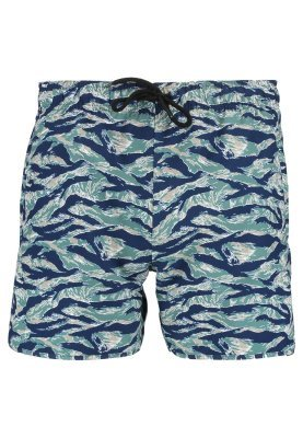 Shorts de baño estampados en multicolor de Pier One