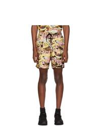 Shorts de baño estampados en multicolor de Saturdays Nyc