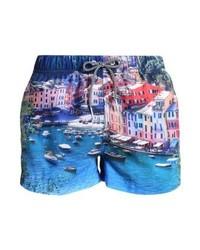 Shorts de baño estampados en multicolor de Shiwi