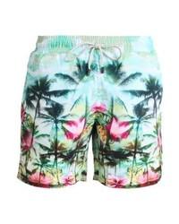 Shorts de baño estampados en multicolor de Sundaze