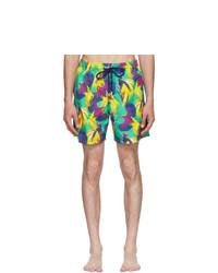 Shorts de baño estampados en multicolor de Vilebrequin