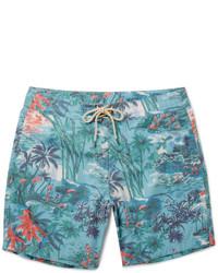 1c479031070e Comprar unos shorts de baño estampados en turquesa: elegir shorts de ...