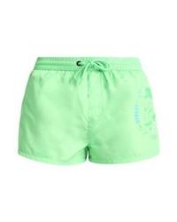 Shorts de baño Estampados en Verde Menta de Diesel