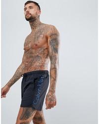 Shorts de baño Estampados Negros de Calvin Klein