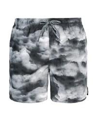 Shorts de baño Estampados Negros de Nike
