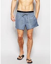 Shorts de baño grises de Calvin Klein