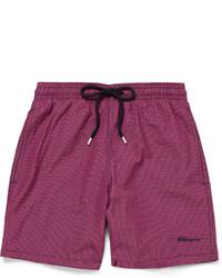 Shorts de baño morado