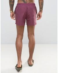 Shorts de baño morado de Asos