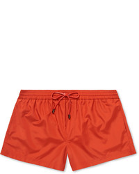 Shorts de baño naranjas de Dolce & Gabbana