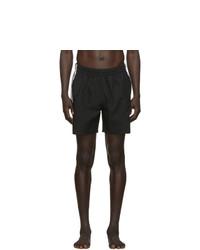 Shorts de baño negros de adidas Originals