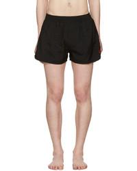 Shorts de baño negros de AMI Alexandre Mattiussi
