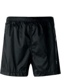 Shorts de baño negros de Marcelo Burlon County of Milan