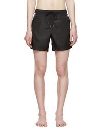 Shorts de baño negros de Moncler