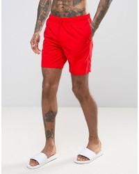 Shorts de baño rojos de Asos