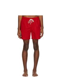 Shorts de baño rojos de Polo Ralph Lauren