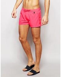 Shorts de baño rosa de Diesel