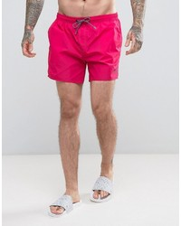 Shorts de baño rosa de Hugo Boss