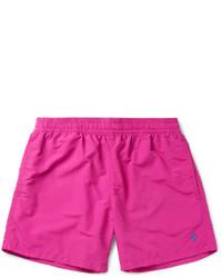 Shorts de baño rosa de Polo Ralph Lauren