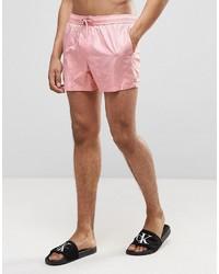 Shorts de baño rosados de Asos