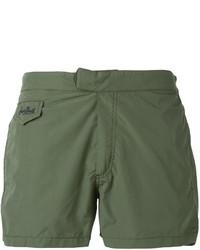 Shorts de baño Verde Oliva de MC2 Saint Barth