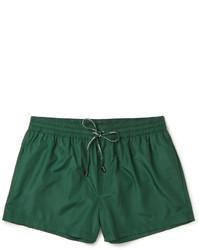 Shorts de baño verdes de Dolce & Gabbana