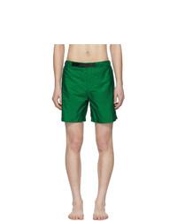 Shorts de baño verdes de Prada