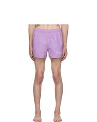 Shorts de baño violeta claro de Givenchy