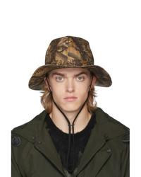 Sombrero de camuflaje marrón claro de South2 West8