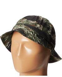 Sombrero de camuflaje negro