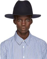 Sombrero de lana azul marino de A.P.C.