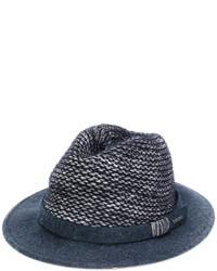 Sombrero de lana azul marino de Woolrich