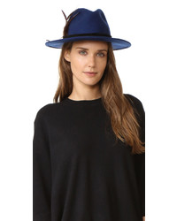 Sombrero de lana azul de Club Monaco