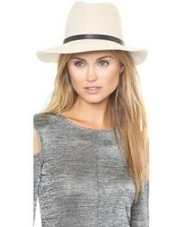 Sombrero de lana blanco de Rag and Bone