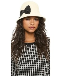 Sombrero de lana en beige de Kate Spade