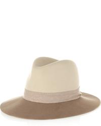 Sombrero de lana en beige de Rag and Bone