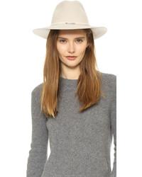 Sombrero de lana en beige de Rag & Bone