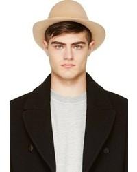 Sombrero de lana en beige de Undercover