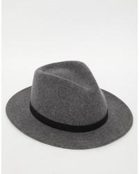 Sombrero de lana en gris oscuro de Brixton