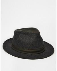 Sombrero de lana en gris oscuro de Goorin Bros.