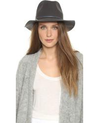 Sombrero de lana en gris oscuro de Hat Attack