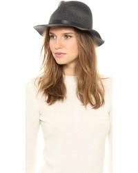 Sombrero de lana en gris oscuro de Rag and Bone