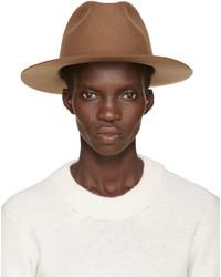 Sombrero de lana en tabaco de A.P.C.