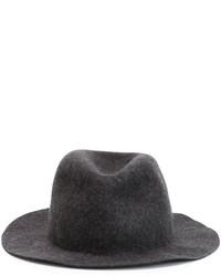 Sombrero de lana gris de Comme des Garcons