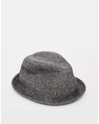 Sombrero de lana gris de Goorin Bros.