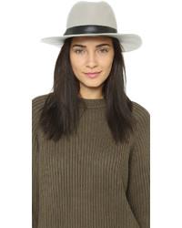 Sombrero de lana gris de Hat Attack