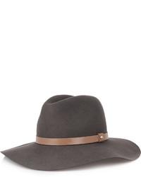 Sombrero de lana gris de Rag and Bone